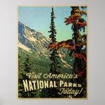 Los parques nacionales de América Posters