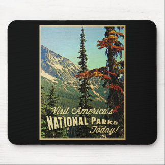 Los parques nacionales de América Alfombrilla De Raton