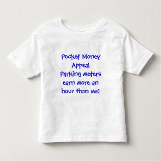 Los parquímetros de la súplica del dinero suelto poleras