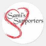 Los partidarios de Sami Etiquetas