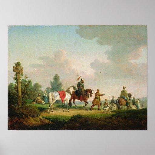 Los partidarios en 1812, 1820 poster