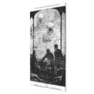 Los pasajeros del nautilus impresiones en lona