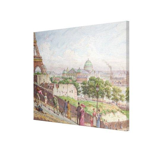 Los pasos en la ruda Alboni, 1897 Impresión En Lona