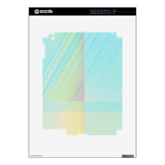 Los pasteles bonitos - palidezca el extracto color calcomanía para el iPad 2
