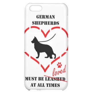 Los pastores alemanes deben ser amados