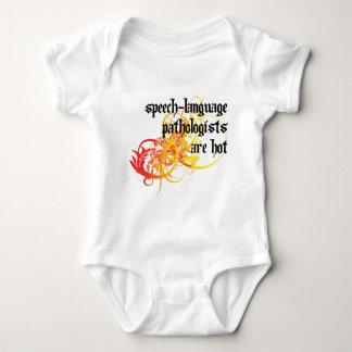Los patólogos de la Discurso-Lengua son calientes Body Para Bebé