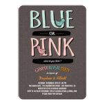 Los patos lindos rosados o el género del bebé azul anuncio personalizado