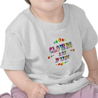Los payasos son diversión camiseta