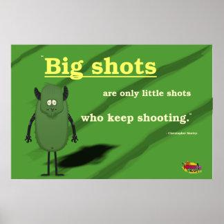 Los peces gordos son solamente los pequeños tiros póster