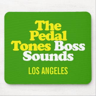 ¡Los Pedal-Tonos! Sonidos de Boss - cojín de ratón Tapetes De Ratón