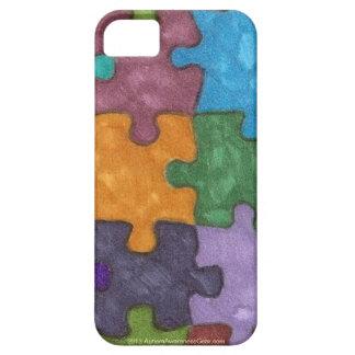 Los pedazos del rompecabezas del autismo sentían iPhone 5 funda