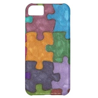 Los pedazos del rompecabezas del autismo sentían i funda para iPhone 5C