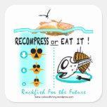 Los pegatinas de la pesca de la escorpina, Recompr