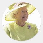 Los pegatinas de la reina
