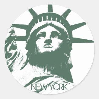 Los pegatinas de Nueva York refrescan a los pegati