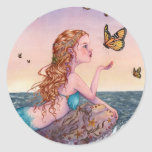 Los pegatinas del arte de la sirena - tráigame las