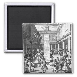 Los peleles Bubbl'd, 1720 Imán Cuadrado