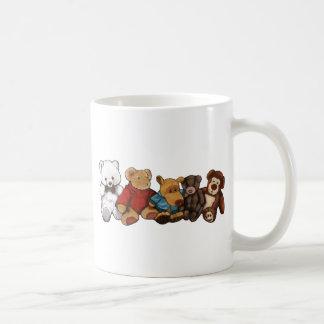 Los peluches, osos de peluche, engrasan arte en taza clásica