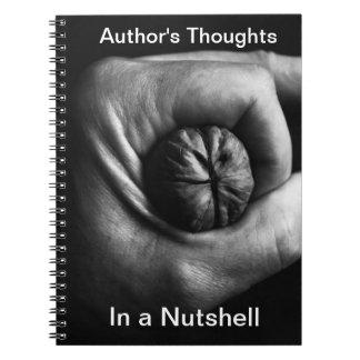 Los pensamientos del autor spiral notebooks
