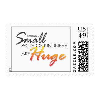 los pequeños actos de la amabilidad son stamo franqueo