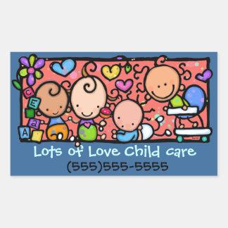 ¡Los pequeños bebés son lindos! Pegatina adaptable