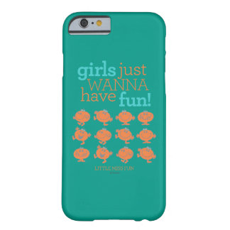 Los pequeños chicas de Srta. Fun el | apenas Funda Barely There iPhone 6