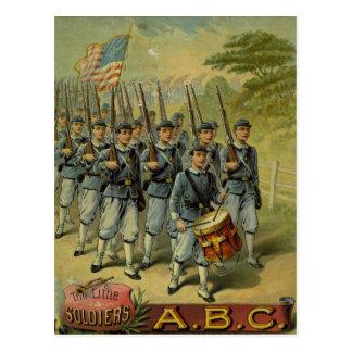 Los pequeños soldados postal