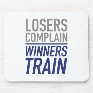 Los perdedores se quejan tren de los ganadores tapetes de raton