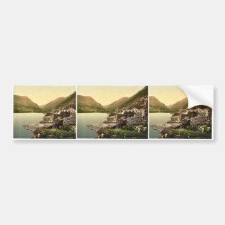 Los Peris de Lyn pasan, Llanberis, País de Gales P Etiqueta De Parachoque