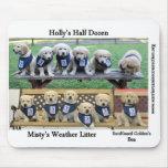 Los perritos de WCC Mousepad Alfombrillas De Ratón