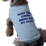 Los perritos tienen gusto de estilo también camiseta de perro