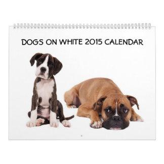 Los perros 2015 hacen calendarios fotografía