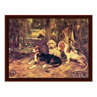 Los perros de Alejandro-Gabriel Decamps Postal