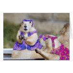 ¡Los perros de las praderas son MARAVILLOSOS! Tarjeta De Felicitación