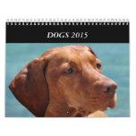 Los perros de todos sazonan el calendario 2015