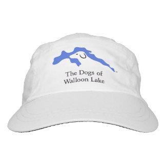 ¡Los perros del casquillo valón del lago! Gorra De Alto Rendimiento