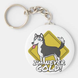 ¡Los perros esquimales y los Malamutes de Alaska Llavero Redondo Tipo Pin