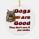 Los perros no cuidan ornato