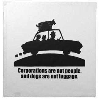 Los perros no son luggage.png servilleta de papel