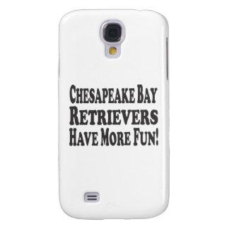 ¡Los perros perdigueros de bahía de Chesapeake se