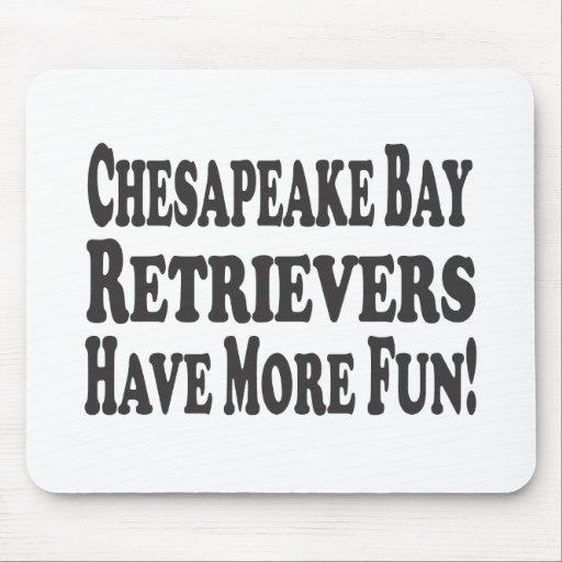 ¡Los perros perdigueros de bahía de Chesapeake se  Tapete De Ratones