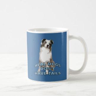 Los perros reales no tienen colas taza clásica