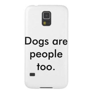 Los perros son caja de la galaxia s5 de la gente carcasa para galaxy s5
