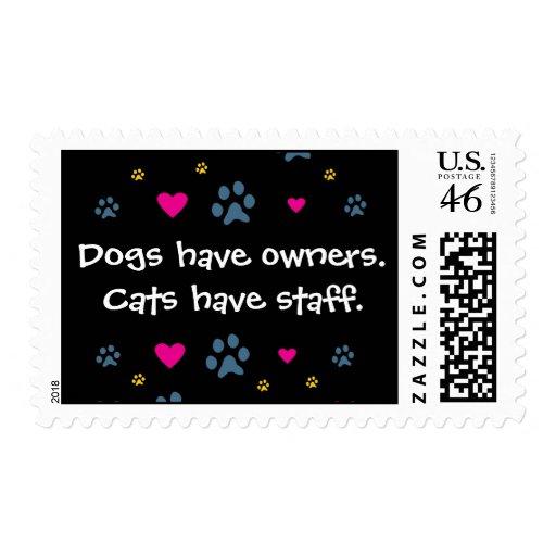 Los perros tienen Dueño-Gatos tener el personal Envio