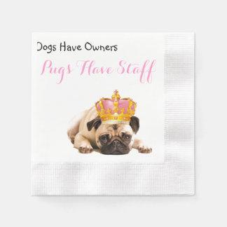 Los perros tienen dueños, barros amasados tienen servilleta desechable