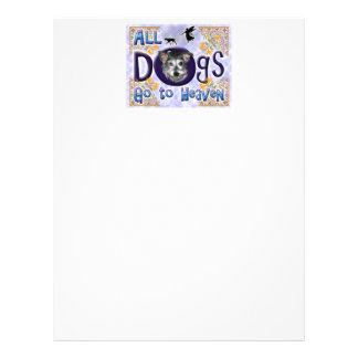 Los perros van a Heaven2 Membrete A Diseño