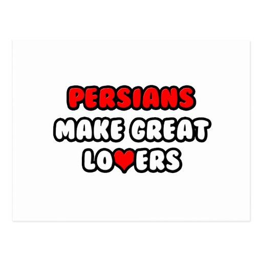 Los persas hacen a grandes amantes tarjetas postales