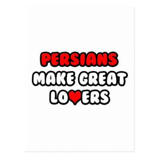 Los persas hacen a grandes amantes tarjeta postal