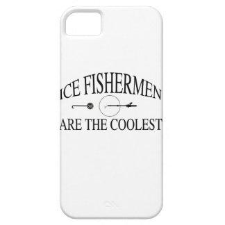 Los pescadores del hielo son frescos iPhone 5 carcasa