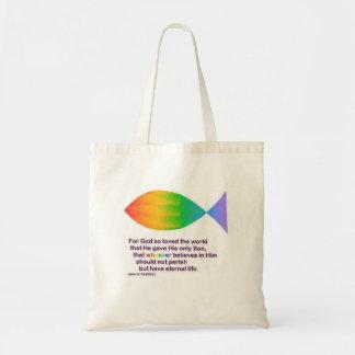 los pescados de arco iris para dios amaron tan el